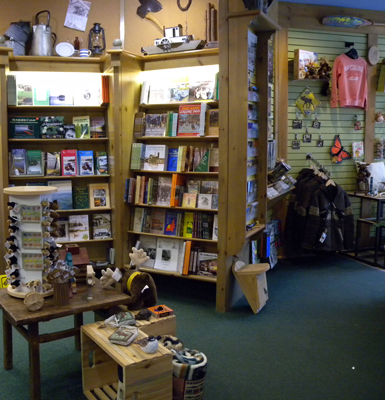 The Friends of Algonquin Park Bookstore and Nature Shop at the Algonquin Park Visitor Centre