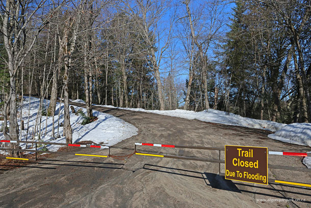Whiskey Rapids Trail Closure on April 13, 2017