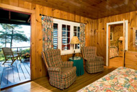 Killarney Lodge Cabin Interior