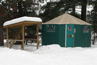 Yurt in Algonquin Park