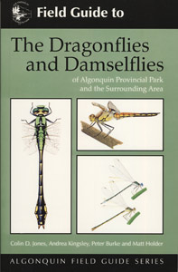 Dragonflies and Damselflies of Algonquin Provincial Park and the Surrounding Area cover