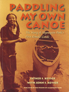Paddling My Own Canoe cover, By Esther Keyser
