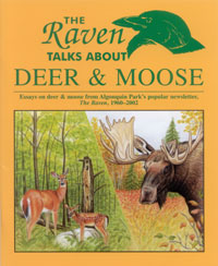 The Raven Talks About Deer And Moose