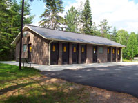 Rock Lake Campground Comfort Station