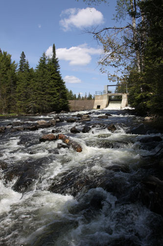 Tea Lake Dam, May 2012