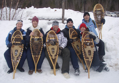 Snowshoeing at Winter in the Wild