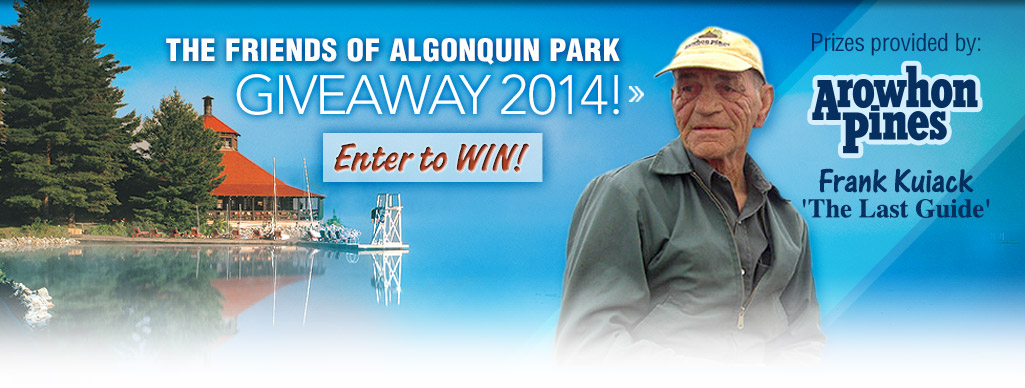 The Friends of Algonquin Park Giveaway 2014